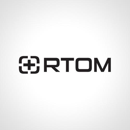 Ortom logo, mono