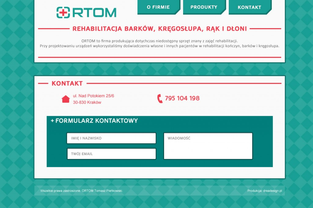 Ortom site contact